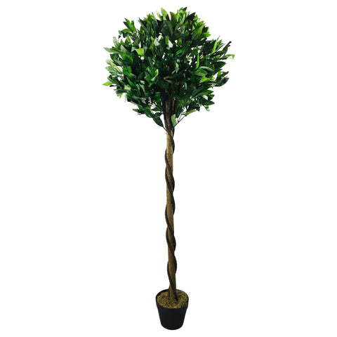 Artificial Pyramid Bay Tree 162cm-Artificial Plant-The Modern Home Shop
