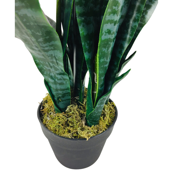 Artificial Mother in Law's Tongue Plant 90cm-Artificial Plant-The Modern Home Shop