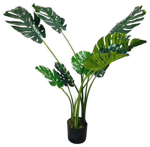 Artificial Monstera Plant 120cm-Artificial Plant-The Modern Home Shop