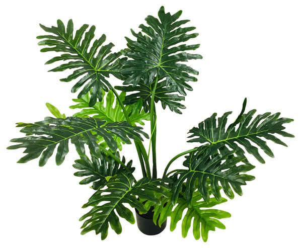 Artificial Philodendron Tree, Short Stems 120cm-Artificial Plant-The Modern Home Shop