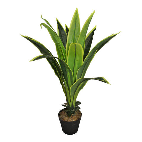Artificial Dracaena Plant with 15 leaves 80cm