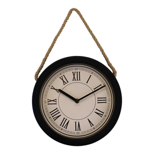 Small Rustic Wall Hanging Clock-Clock-The Modern Home Shop