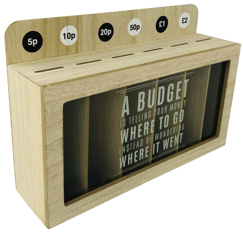 Money Box Coin Organiser 30cm-Money Box-The Modern Home Shop