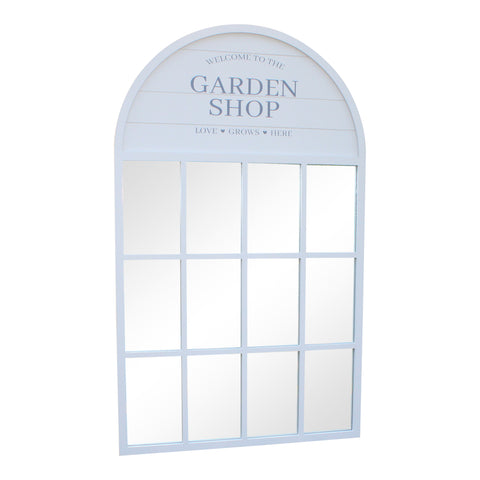 Potting Shed Mirror, Grey 60x100cm-Mirror-The Modern Home Shop