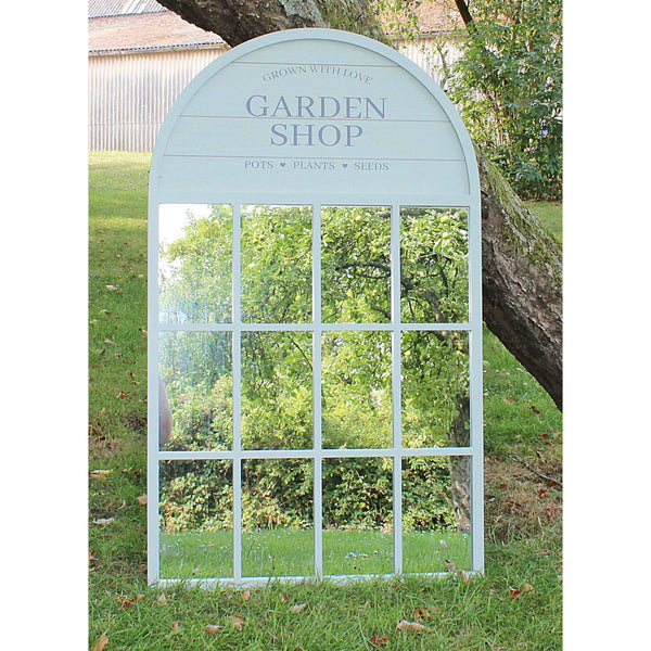 Potting Shed Mirror, Green 60x100cm-Mirror-The Modern Home Shop