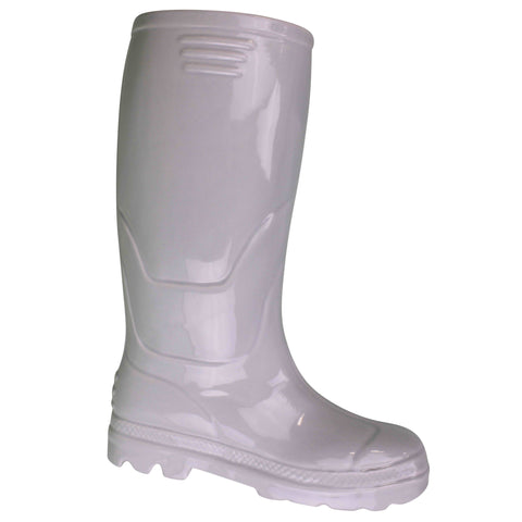 Ceramic Wellington Boot Planter White 36cm-Plant Pot-The Modern Home Shop