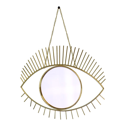 Gold Metal Eye Mirror