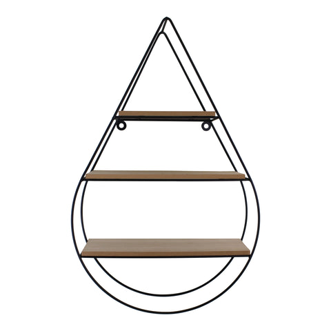 Teardrop Shelving Unit With Three Shelves-Shelving-The Modern Home Shop