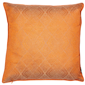 Malini Benzir Orange Cushion-Cushion-The Modern Home Shop