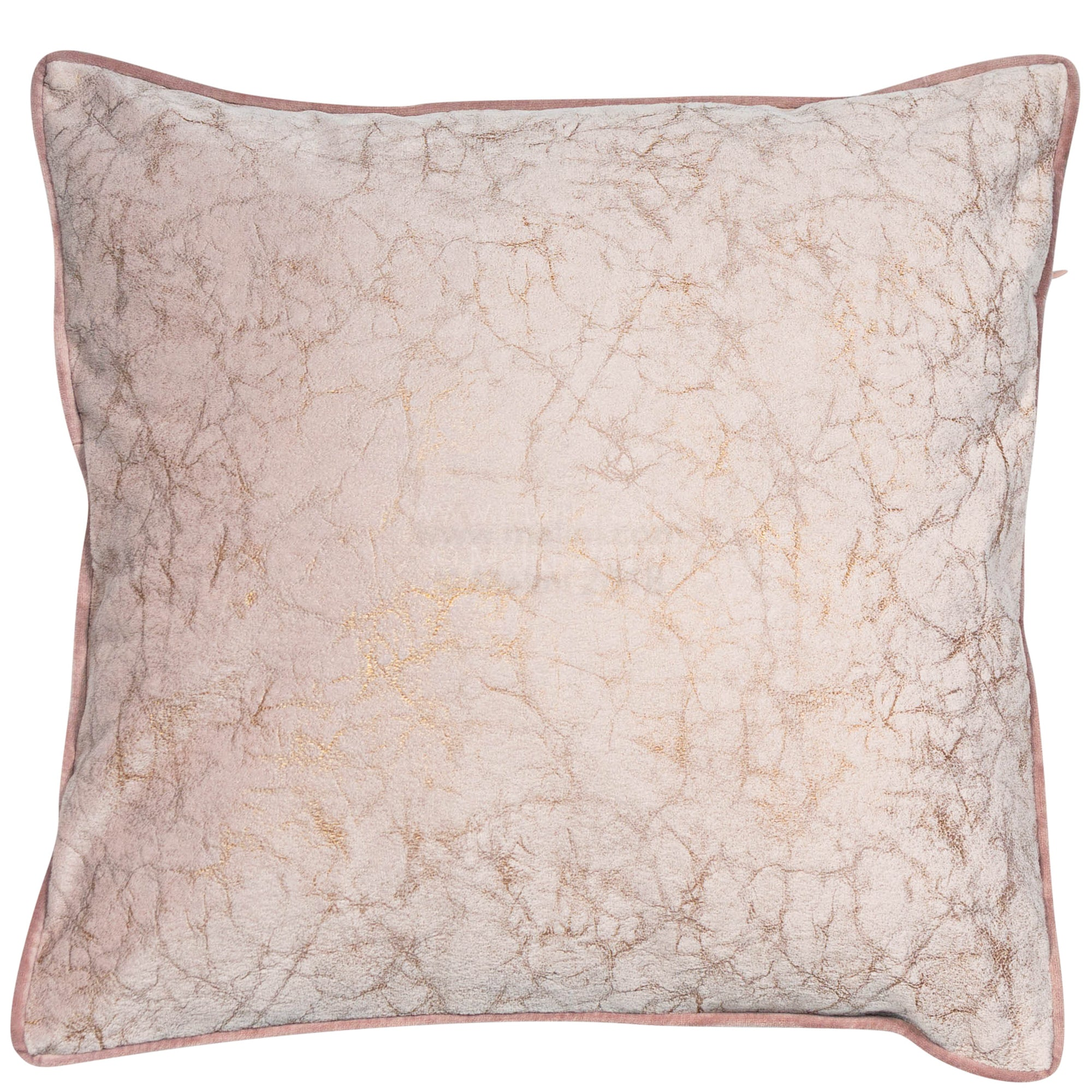 Malini Crackle Blush Pink Cushion