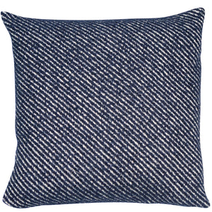 Malini Diag Navy Cushion-Cushion-The Modern Home Shop