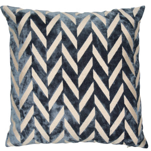 Malini Jaz Blue Cushion-Cushion-The Modern Home Shop