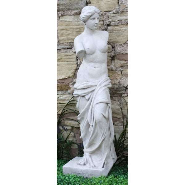Stone Effect Lady Figure Venus Large Statue 107cm