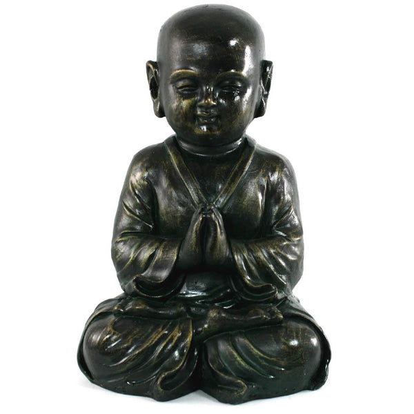 Stone Effect Child Buddha Statue