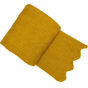 Malini Doura Mustard Throw-Throw-The Modern Home Shop