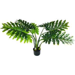 Artificial Philodendron Tree With Short Stem 95cm-Artificial Plant-The Modern Home Shop