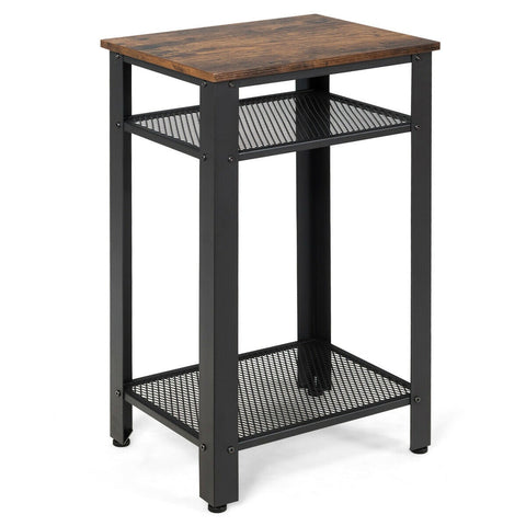3-Tier Industrial Side Table-Side Table-The Modern Home Shop