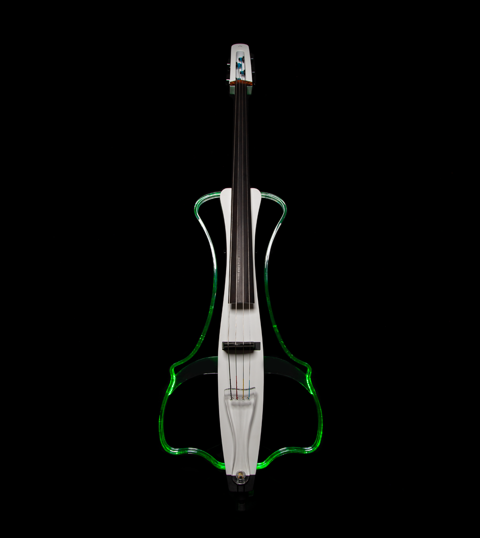 Aurora Cello Silhouette White