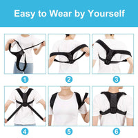 Adjustable Wearable Posture Corrector