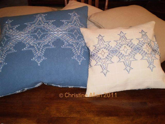 Flickering Flakes Swedish/Huck Weaving Pattern