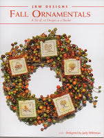 Fall Ornaments Collection counted cross stitch chart