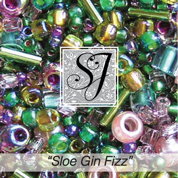 Sloe Gin Fizz Cocktail Mix Beads