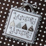 Dreaming of Chocolate counted cross stitch chart