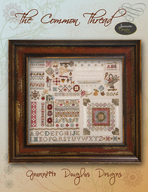 The Common Thread Sampler Chart