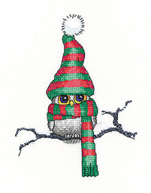 Ollie Owl counted cross stitch chart