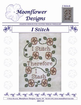 I Stitch counted cross stitch chart