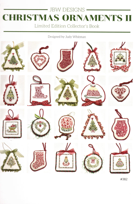 Christmas Ornaments 2 - counted cross stitch booklet