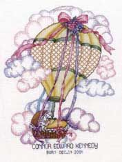 Special Delivery counted cross stitch chart