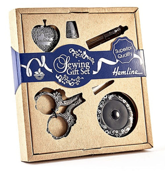 Silver Sewing Gift Set