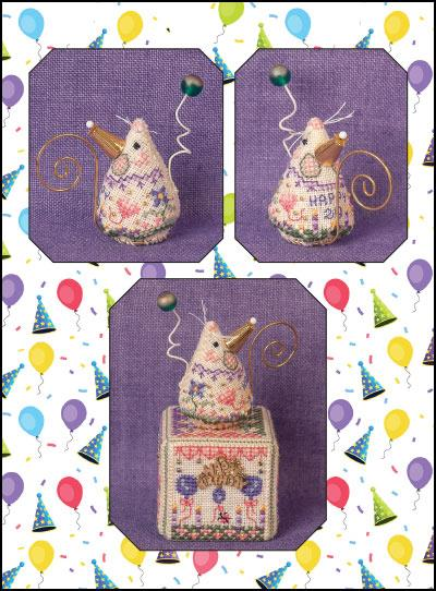 Just Nan Limited Edition Chart Birthday Mouse