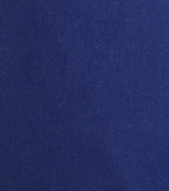Royal Blue Melton Wool Fabric