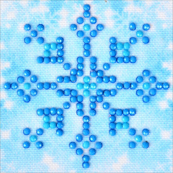 DDZ Kit Diamond Painting Snowflake Sparkle