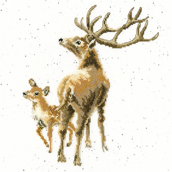 Wild at Heart counted cross stitch kit