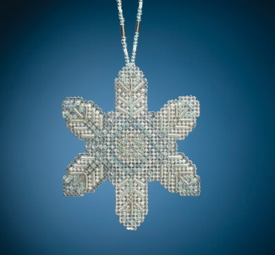 Opal Ice Snowflake Beaded Holiday kit
