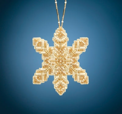 Pearl Snowflake Beaded Holiday Kit