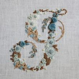 A Flower Alphabet embroidery book