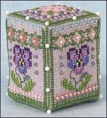 Pansy Rose Cube