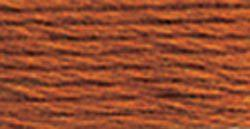 DMC Embroidery Floss - 301 Medium Mahogany