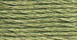 DMC Embroidery Floss - 522 Fern Green