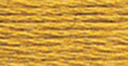 DMC Embroidery Floss - 729 Medium Old Gold