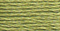 DMC Embroidery Floss - 3364 Pine Green