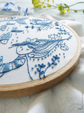 Ocean Princess Embroidery Kit