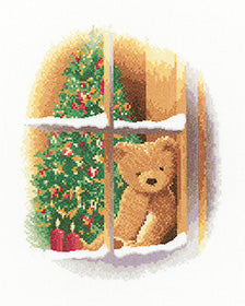 William at Christmas cross stitch chart