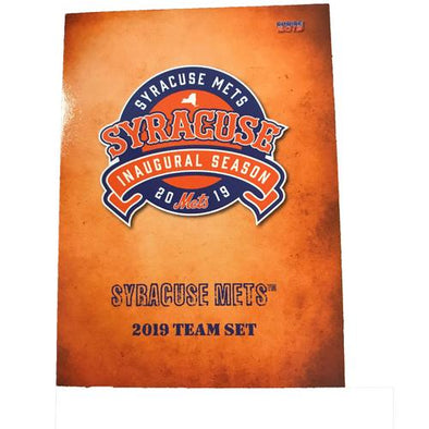 Syracuse Mets 2019 Team Card Sets