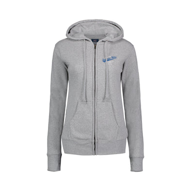 MV Grey Ladies Full Zip Sweatshirt