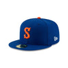 Syracuse Mets NE Road On-Field Cap